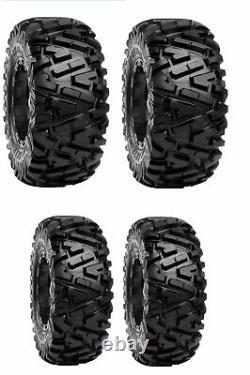 Duro Power Grip DI2025 6 Ply ATV / UTV Tires Front 25x8R-12, Rear 25x10R-12