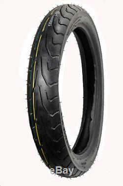 Front Motorcycle 6 PLY Tires 100/90-19 100/90 19 for Harley Sportster