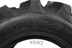 Kenda Executioner 25x10-12 6 PLY Tire 2 Pack with 25x10-12 TR-6 Inner Tube 2 Pack