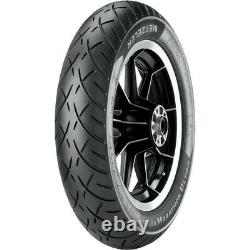 Metzeler ME888 Front Blackwall 130/70-18 Bias Ply Repl Tire for Harley FLH