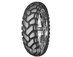 Mitas E-07+ Dual-sport, Rear 17, 130/80-17, 50/50, 65t, Tubeless Bias Ply Tire