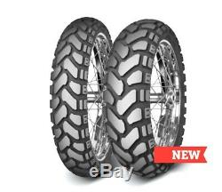 Mitas E-07+, Dual-sport, Rear 17, 150/70-17 50/50, 69t Tubeless Bias Ply Tire