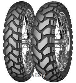 Mitas E-07+, Dual-sport, Rear 17, 170/60-17, 50/50 Tubeless Bias Ply Tire