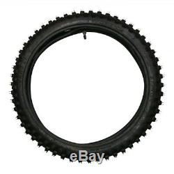 Motorcycle Tire + Heavy Duty Tube 2.25-2.50x19 70/100-19 4 Ply Motocross 19 Inch
