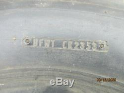 Old NOS B. F. Goodrich 6.50x16 light truck tire, tube type, 6-ply rating, highway