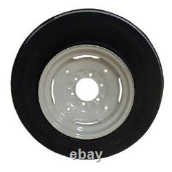 One 600x16 600-16 6.00-16 Tractor Tire 3 Rib 12 Ply with Rim & Tube Thorn Resist
