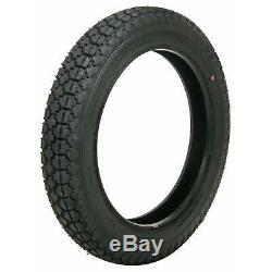 Pair (2) Coker Firestone Motorcycle Tires 4.00-18 Bias-ply Blackwall 73222