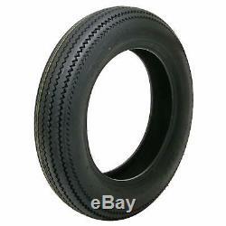 Pair (2) Coker Firestone Motorcycle Tires 5.00-16 Bias-ply Blackwall 72225