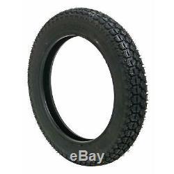 Pair (2) Coker Firestone Motorcycle Tires 5.00-16 Bias-ply Blackwall 73225