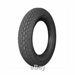 Pair (2) Coker Vintage Motorcycle Tires 500-16 Bias-ply Blackwall 63525