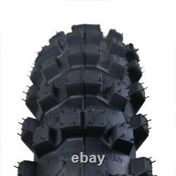 Pair 90/100-16 90x100-16 Rear Tyre Tire 6 ply + Inner Tube for 140cc 150cc Quad