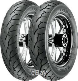 Pirelli Night Dragon Bias-Ply Front & Rear Tire Set 130/90-16 & 180/70-15