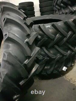 RC OZKA 18.4-34 KNK-50 (2-TIRES + TUBES) 18.4x34 16 PLY Tractor Tires Tube type