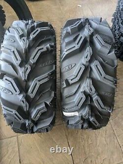 Set 2 ITP Mud Lite XTR Radial Tires 27x9-14, Radial, Front, 6 Ply, Directional