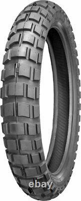 Shinko 804 Series Big Block Front 4-Ply Tire 100/90-19 TL 57S 87-4703