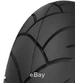 Shinko SR740/741 130/70-17 Rear & 110/70-17 Front Motorcycle Tires 4 Ply Rated