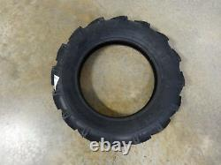 TWO 5.00-15 BKT AS-504 I-3 Traction Implement Tires WITH Tubes 6 ply Hay Rakes