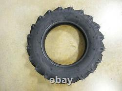 TWO 6.00-16 Starmaxx R-1 Farm Lug Traction Implement Tires and Tubes 6 ply