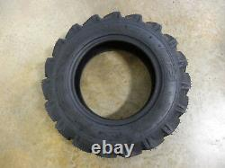 TWO New 6-14 ATF Compact Tractor Lug Tires 6 ply WITH Tubes