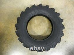 TWO New 7.50-18 Starmaxx TR-60 R-1 Tractor Lug Tires 8 ply WITH Tubes
