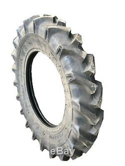 TWO New Tires 5.00 12 K9 Tractor R1 6 Ply Tube Type 5.00x12 5.00-12 DOB FS