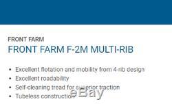 Tire & Tube 11 L 15 Harvest King 4 Rib F-2M Tractor Front 8 ply TL 11L-15