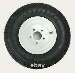 Trailer Tire/Wheel Assembly 6-Ply Rated/Load Range C 205/65-10 5 Hole Rim