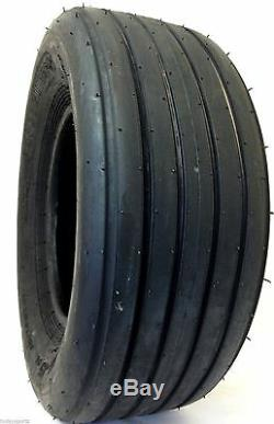 Two 11l-15 Implement Equipment Tire Tires 8 Ply Rated Heavy Duty I-1 Tube Type