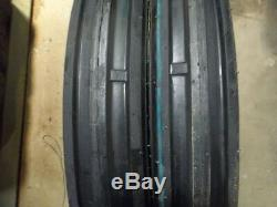 Two JOHN DEERE H 9.5x32 6 Ply Rear Tractor Tires (2) 400x15 3 rib withtubes
