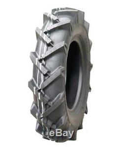 Two New 4.00-12 Vredestein 4 ply Lawn & Garden Tractor Lug Tires & Tubes 400 12