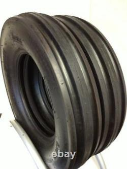 Two New 7.50-18 Front Tractor 3-Rib 8 Ply Tire fits Farmall FREE Shipping
