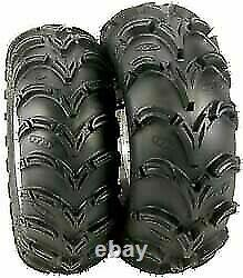 Two new 24x9-11 ITP Mud Lite AT 6 Ply ATV Tires 24 9 11 FREE Shipping