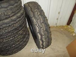 Two new 9.00-20 8 ply F2 front Tractor Tires with tubes